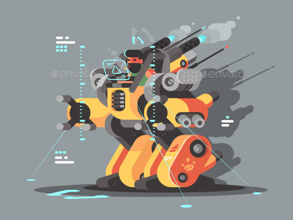Exoskeleton Innovative Robot - Miscellaneous Characters