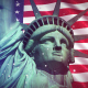 Statue of Liberty Loop Background - VideoHive Item for Sale