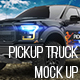 Pickup Truck Mock-Up - GraphicRiver Item for Sale