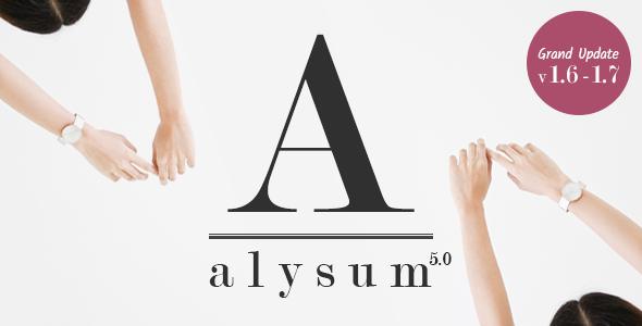 Alysum - Premium Prestashop 1.7 & 1.6 Theme