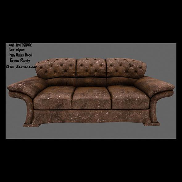 Armchair_10 - 3DOcean Item for Sale