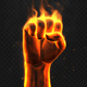 Fire Fist - VideoHive Item for Sale