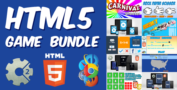 HTML5 Games Bundle - 10 Casual HTML5 Games - CodeCanyon Item for Sale