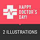 Concept Doctors Day People Doctors Ambulance Car Part 2 - GraphicRiver Item for Sale
