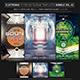 Electro Music Flyer/Instagram Bundle Vol. 42 - GraphicRiver Item for Sale