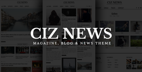 Ciz News – Magazine, Blog & News Theme