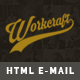 Responsive Email + Stampready Builder, Workcraft - ThemeForest Item for Sale