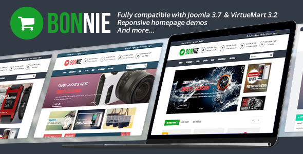 Image of Vina Bonnie - Responsive Multipurpose VirtueMart Template