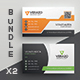 Business Card Bundle 35 - GraphicRiver Item for Sale