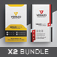 Business Card Bundle 36 - GraphicRiver Item for Sale