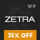 Zetra - A WordPress Theme for eCommerce Websites - ThemeForest Item for Sale