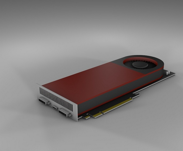 Video card - 3DOcean Item for Sale