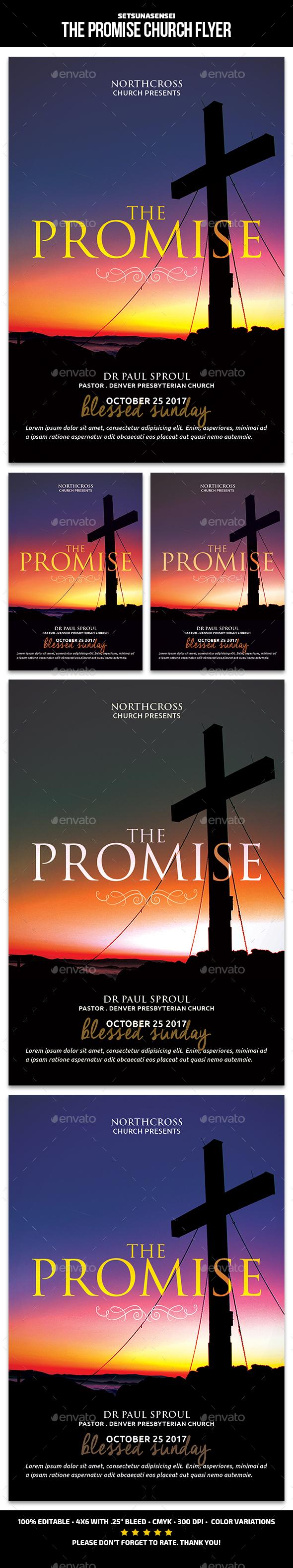 The Promise Church Flyer - Church Flyers