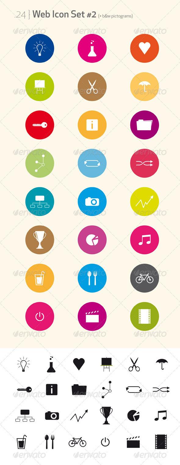 Web Icon Set & pictograms #2 - Web Icons