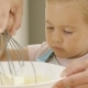 Fascinated Little Girl Learning To Bake - VideoHive Item for Sale