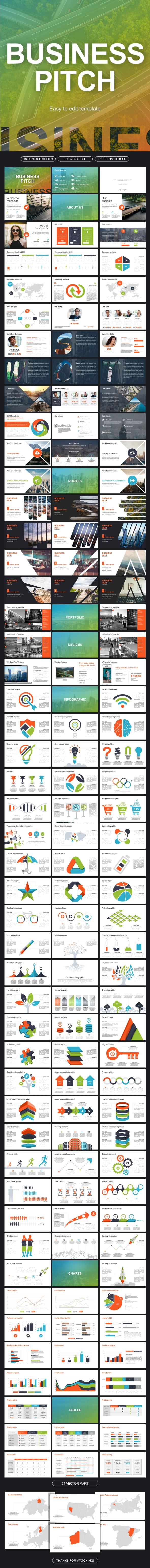 Business Pitch Powerpoint - Business PowerPoint Templates