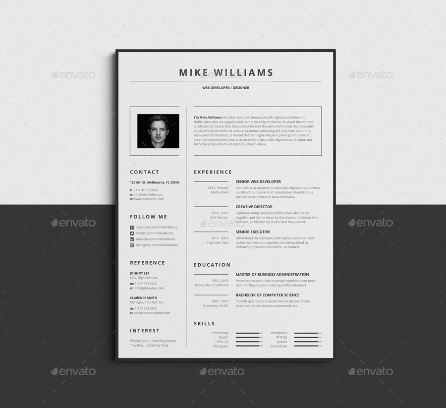 Top 10 professionelle Bewerbungsvorlagen – Top Templates