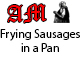 Frying Sausages in a Pan