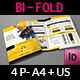 Hand Tools Products Catalog Bi- Fold Brochure Template - GraphicRiver Item for Sale