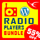 HTML5 Radio Players WordPress Plugins Bundle - CodeCanyon Item for Sale