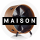MAISON – Minimalist eCommerce PSD Template - ThemeForest Item for Sale