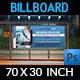 Medical Laboratory Billboard Template - GraphicRiver Item for Sale