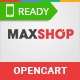 MaxShop - Fastest & Responsive Multipurpose OpenCart 2.3 and 2.2 Theme Nulled