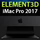 Element3D - Apple iMac Pro 2017