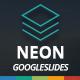 Neon Googleslides Template - GraphicRiver Item for Sale