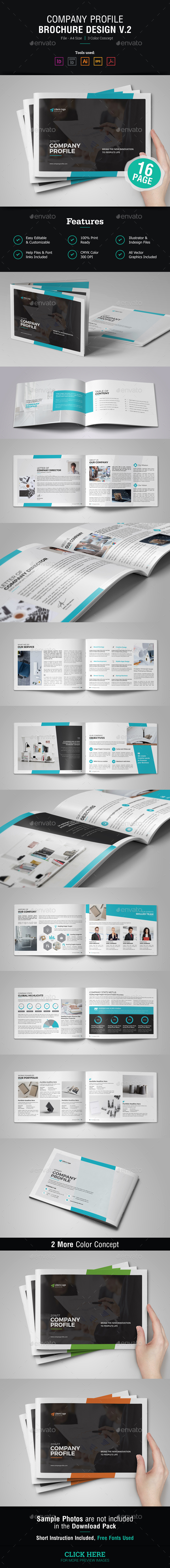 Company Profile Brochure v2 - Corporate Brochures