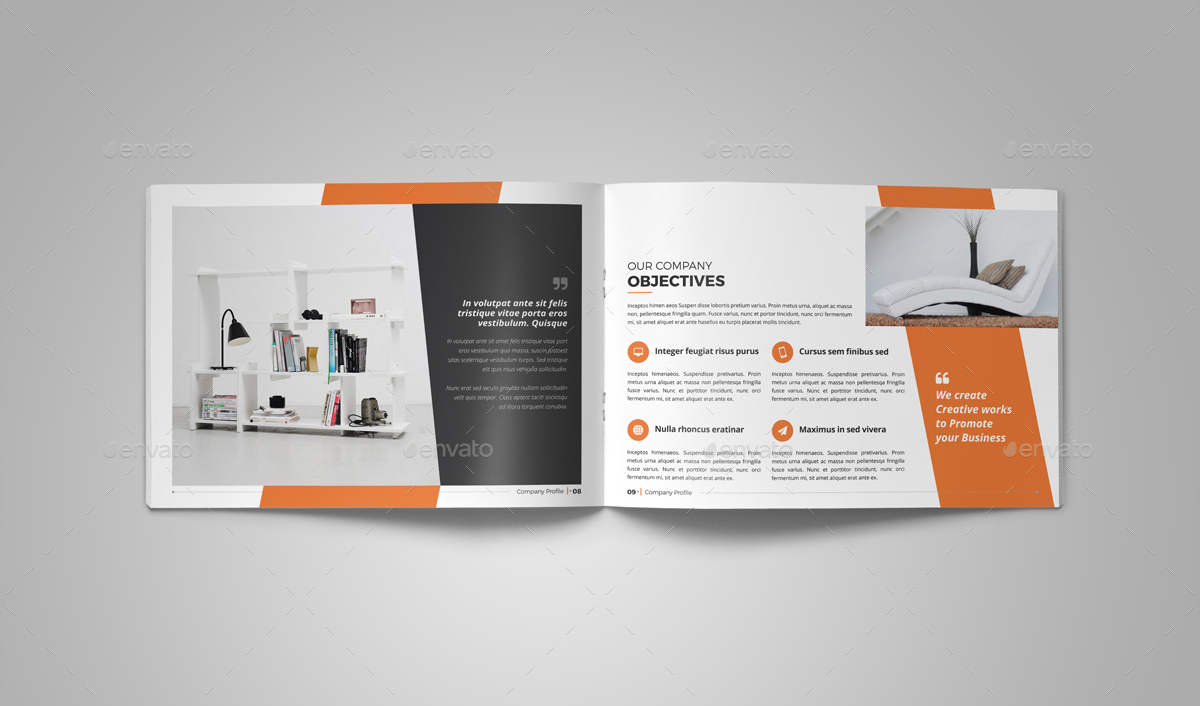 company profile brochure v2 by miyaji75 graphicriver