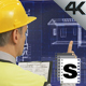 Builder Using Screen - VideoHive Item for Sale