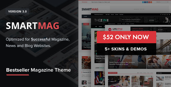 SmartMag - Responsive & Retina WordPress Magazine - News / Editorial Blog / Magazine