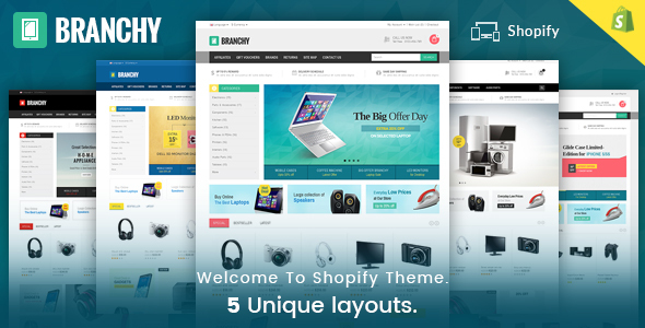Image of Branchy - Sectioned Multipurpose Shopify Theme