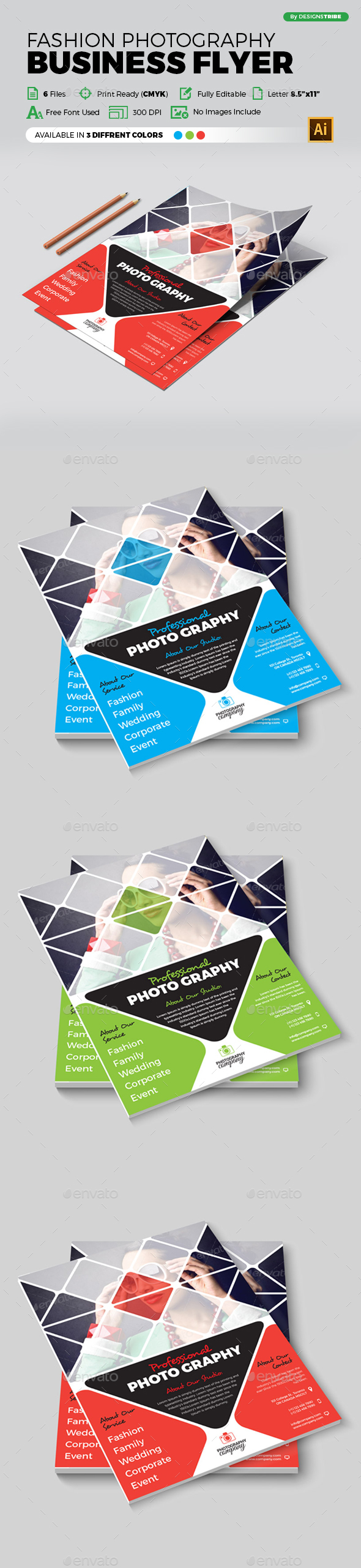 Flyer – Multipurpose 323 - Corporate Flyers