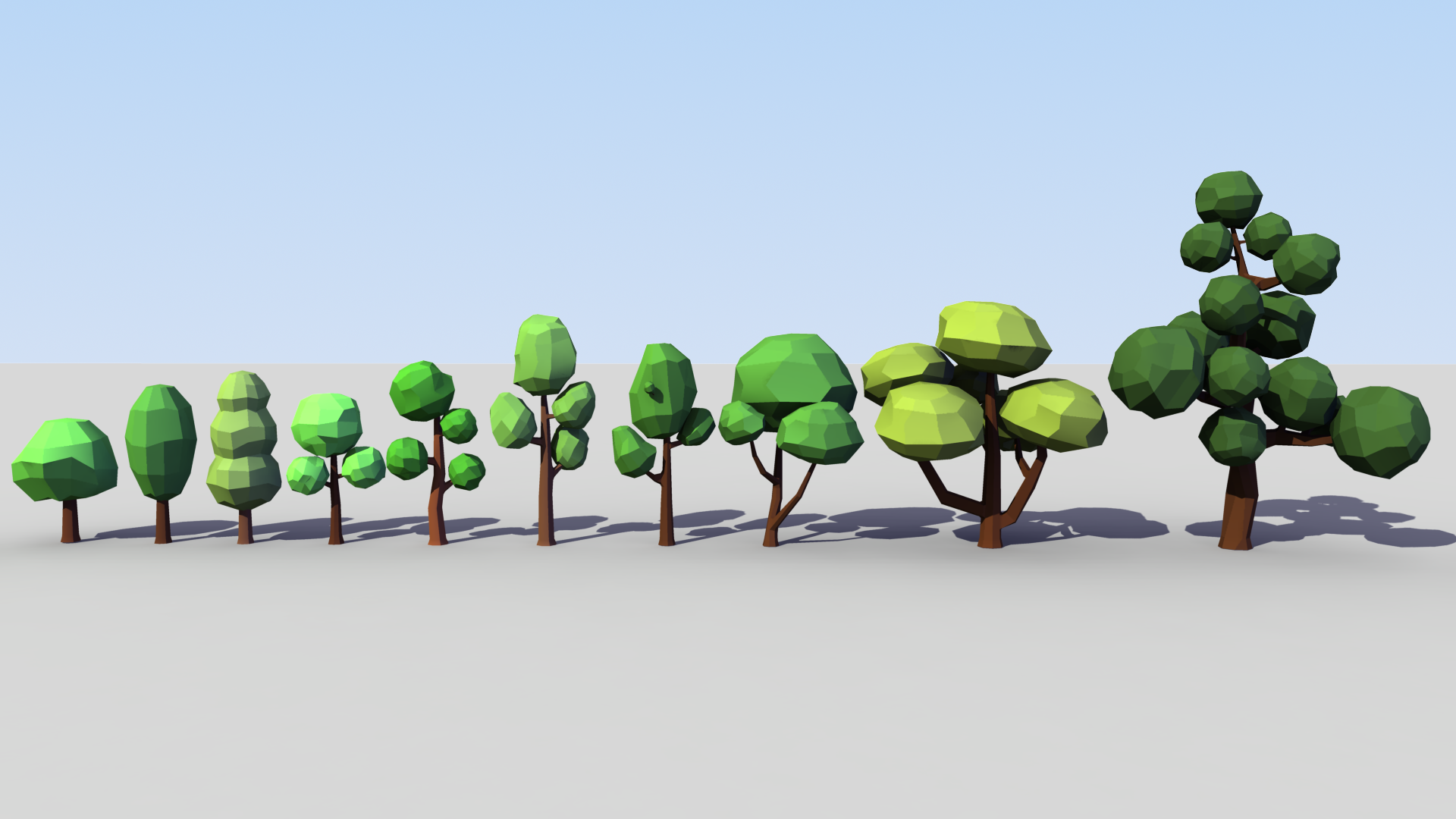 Low Poly Tree Pack