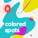 Abstract Multicolored Spots Backgrounds - GraphicRiver Item for Sale