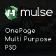 Mulse - Multi Purpose PSD OnePage Template