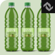 Clear Plastic Bottle Mockup Shape 7 - GraphicRiver Item for Sale