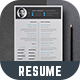 Resume - Thomson - - GraphicRiver Item for Sale