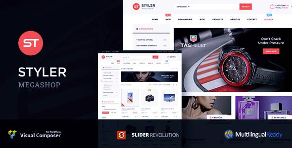 Styler - Mega Shop Woocommerce