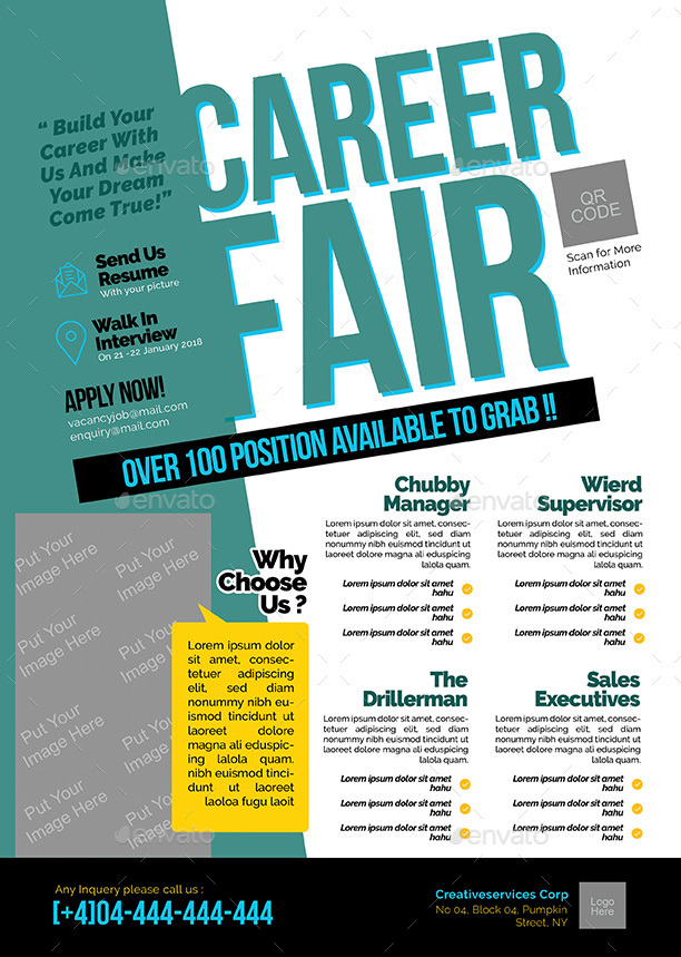 Job Fair Brochures
