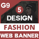 Fashion Banners And  Ads
