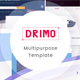 Drimo- Apps,Saas, Hostings, Repairing & Product Landing Page - ThemeForest Item for Sale