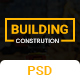 Building - Construction PSD  Template