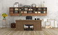 Home office in classic style - PhotoDune Item for Sale