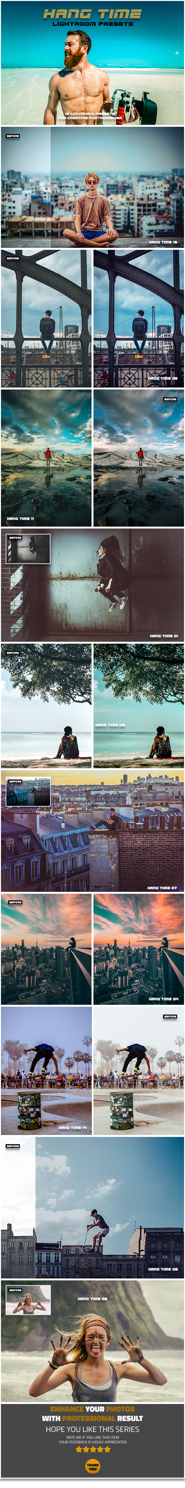15 Hang Time Lightroom Presets - Lightroom Presets Add-ons