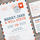 Airmail Wedding Invitation - GraphicRiver Item for Sale