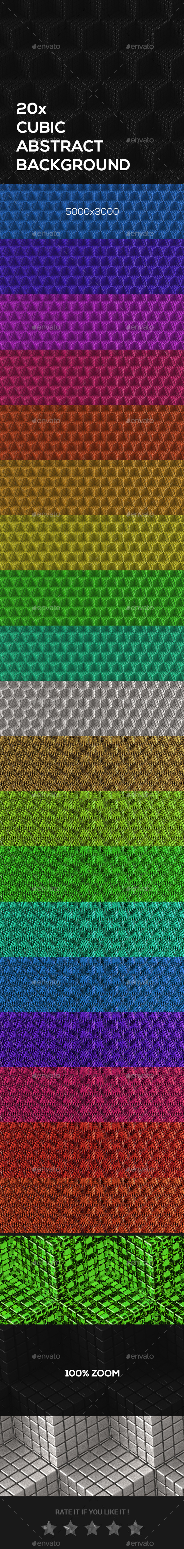 Cubic Abstract  Backgrounds - Backgrounds Graphics