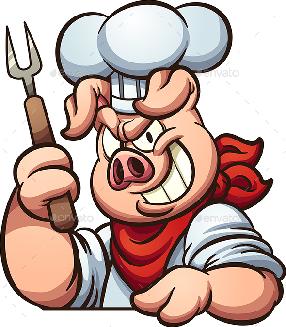 Chef Pig - Animals Characters